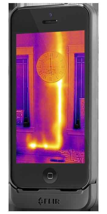 тепловизор iphone
