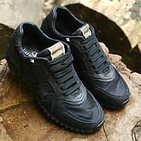 Мужские кожаные кроссовки кеды мокасины ботинки кросовки кеди мужская обувь  чоловіче взуття Valentino 2135c79571ce5