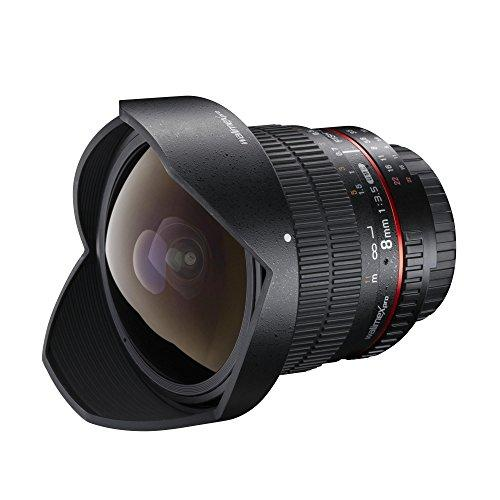 Объектив Walimex Pro 8mm f/3.5 Fish eye II (Samyang 8/3.5 UMC CS II) для камер Canon EF