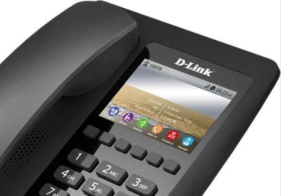 IP-телефон для гостиниц и отелей D-Link DPH-200SE