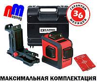 Лазерный 3D уровень KAPRO 883N в кейсе ✔ ПОДАРОК КЛИПСА с микроподстройкой ➤ГАРАНТИЯ 3 ГОДА