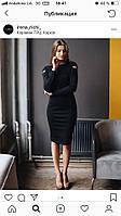 Платье Черети черный