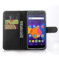 Чехол-книжка Litchie Wallet для Alcatel One Touch Idol 3 6045 (5.5) Черный