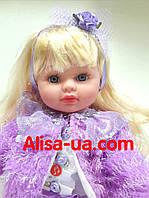 Интерактивная кукла Маленькая Пани М 3682 сиреневое платье, фото 1