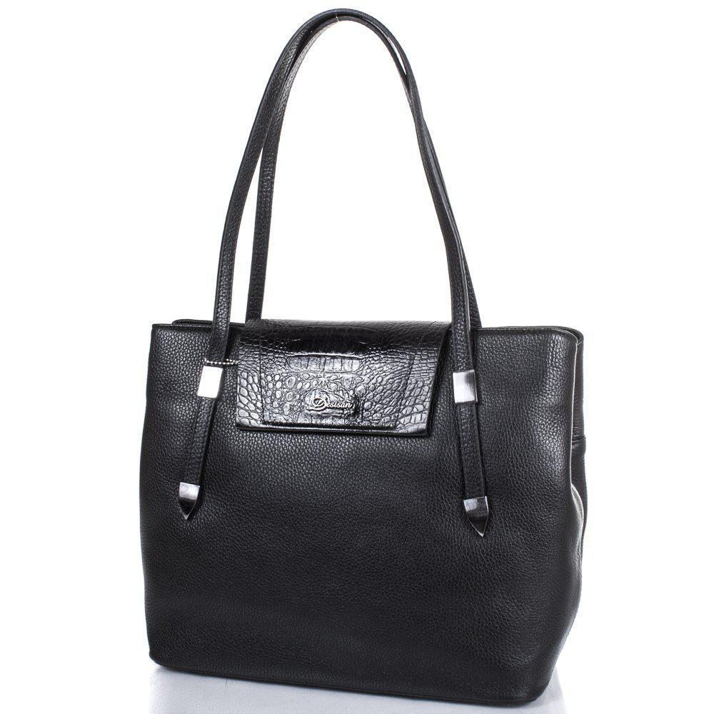 a044e10d7536 Женская деловая кожаная сумка DESISAN (ДЕСИСАН) SHI2896-011 - Интернет- магазин
