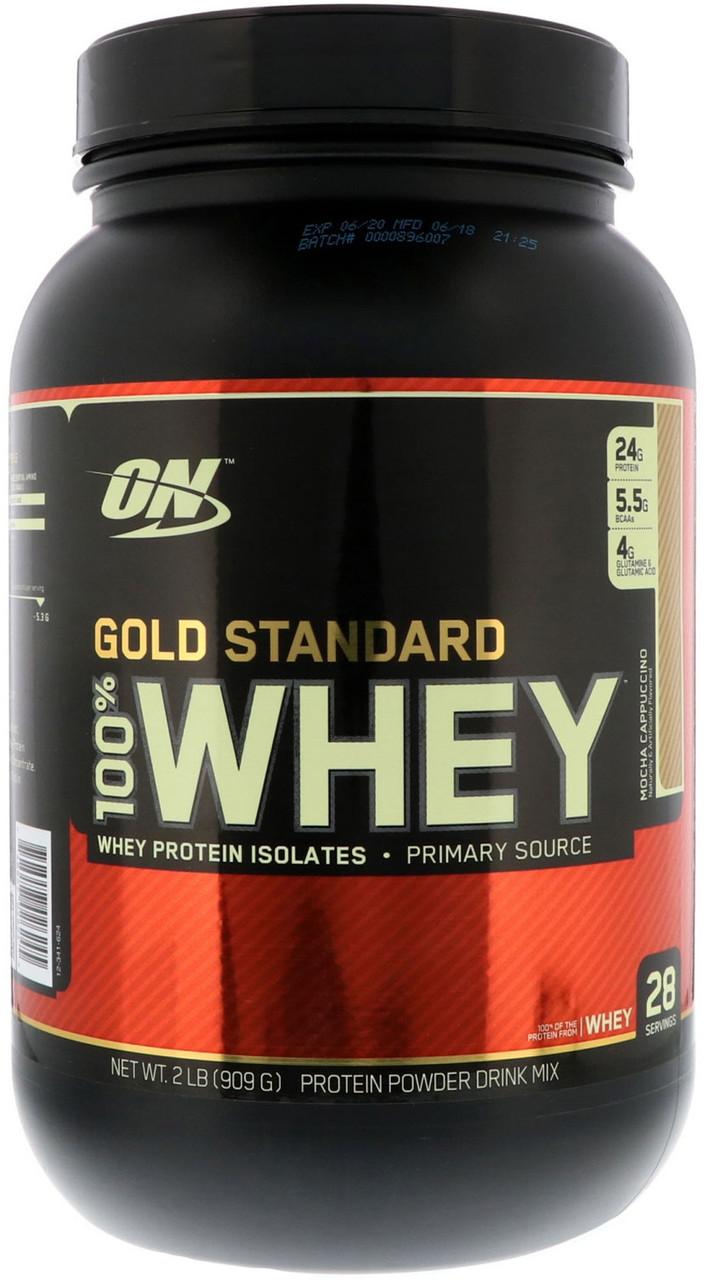 Протеин Optimum Nutrition 100% Whey Gold Standard 0,9 kg