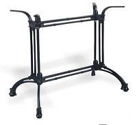 Основание из чугуна Зингер.  Опора для стола, база, основа для стола, подстолье.