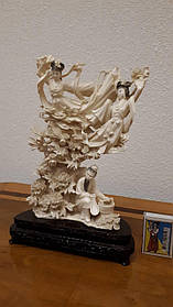 Скульптура Три феї, Слонова кістка,Китай, 1950-ті роки