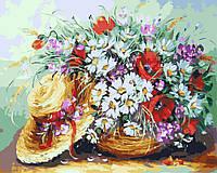 Картина по номерам 40х50 Букет из полевых цветов (GX4416), фото 1
