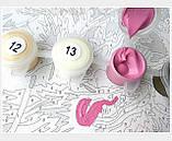 Картина по номерам 40х50 Разноцветные пионы (GX4174), фото 7