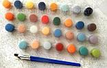 Картина по номерам 40х50 Разноцветные пионы (GX4174), фото 8
