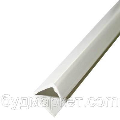 Уголок торцовочный для гипсокартона 2,5 м