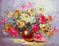 Картина по номерам 40х50 Нежность из роз (GX5832), фото 1