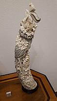 Две статуэтки Феникс  Слоновая кость,Китай, 1950-годы, фото 3