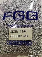 Бисер калиброванный  № 489  (50гр)