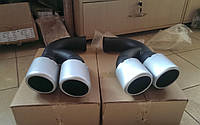 Насадки на выхлопные трубы для Porsche Cayenne TECHART, фото 1