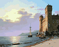 Картина по номерам 40х50 На рейде у крепости (GX24464), фото 1