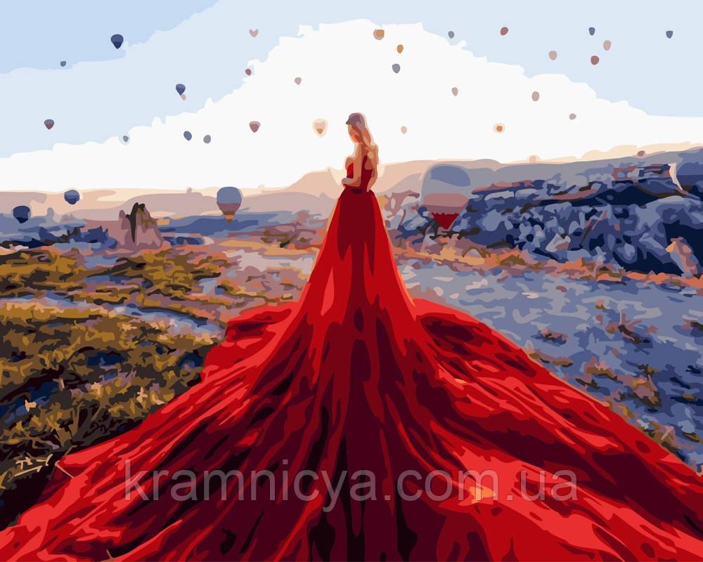 Картина по номерам 40х50 В долине поздушных шаров (GX24812)