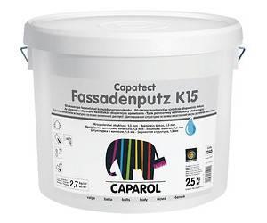 """Штукатурка акриловая CAPATECT-FASSADENPUTZ K15 """"барашек"""" (Украина), B1-белая, 25кг"""