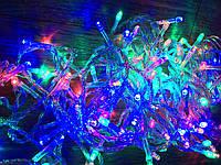 Новогодняя светодиодная гирлянда 7м, 100LЕD разноцветная, фото 1