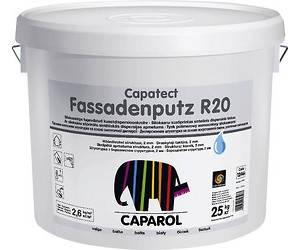"Штукатурка акриловая CAPATECT-FASSADENPUTZ R20 ""короед"" (Украина), B1-белая, 25кг"