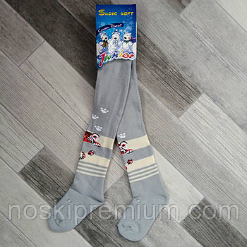 Колготки детские махровые х/б Классик Junior, Cotton 450 Den, 16-17 размер, 98-104 см, 15304