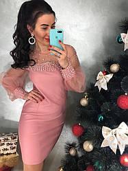 0cd079f0361 Красивое женское платье органза