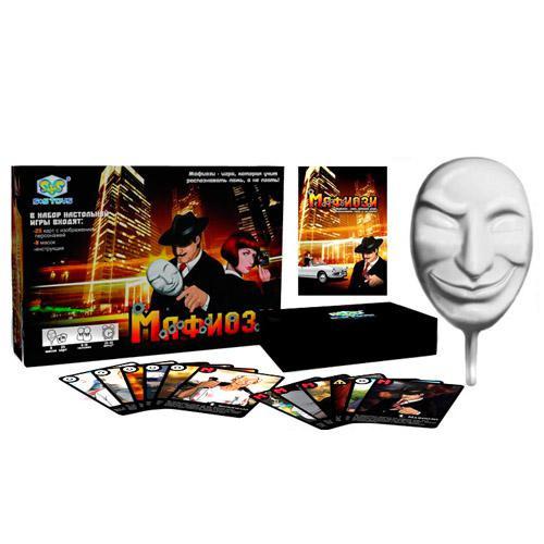Настольная Ролевая карточная игра МАФИЯ (Мафиози)