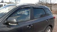 Дефлектори вікон (вітровики) HYUNDAI Santa Fe 2005-