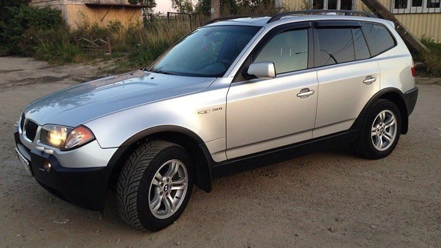 Дефлекторы окон (ветровики) BMW X3 2003-(E83)