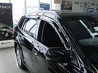 Дефлектори вікон (вітровики) Subaru Outback 10-