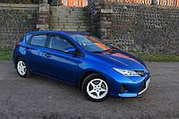 Дефлекторы окон (ветровики) Тойота AURIS 2012-