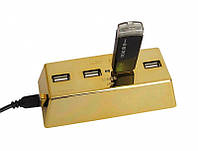 USB хаб Слиток золота, фото 1