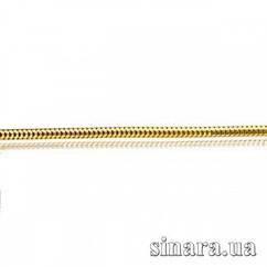 Цепочка из желтого золота Снейк 19510