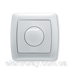 Светорегулятор, диммер 600W RL поворотный белый, крем Viko Carmen