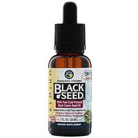 Черный тмин, 100% чистое холоднопрессованное масло черного тмина, 30 мл Amazing Herbs