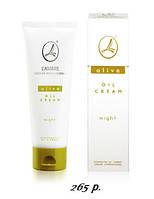 Оливковый ночной крем интенсивный уход для чувствительной и сухой кожи Ламбре