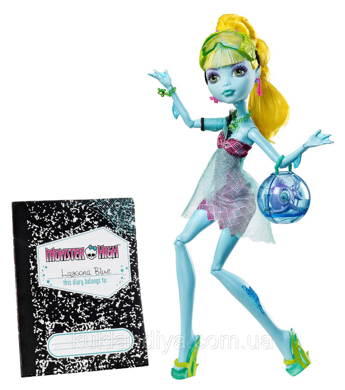 Кукла Monster High Лагуна Блю 13 желаний - 13 Wishes Lagoona Blue