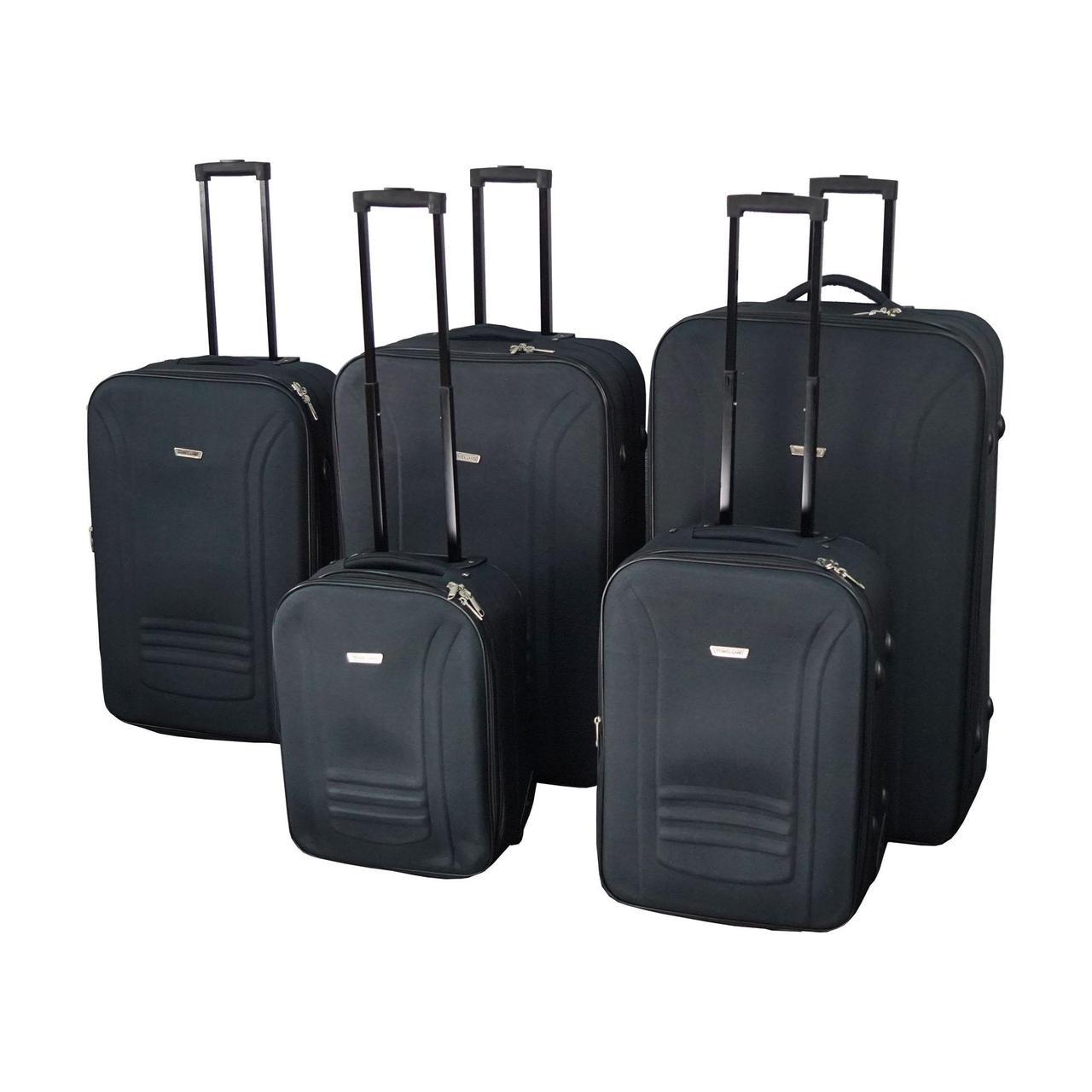 edcb9d76a6d5 Набор чемоданов Travel Land 5 шт (5110-0002) - Интернет-магазин недорогих
