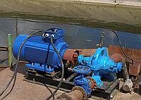 Насос центробежный  типа Д 320-50 с эл. двиг. 55 кВт/1500 об.мин.