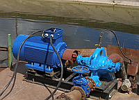Насос центробежный  типа Д 320-50б с эл. двиг. 45 кВт/1500 об.мин., фото 1