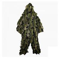 Костюм маскировочный MIL-TEC Ghillie OAK LEAF XL/XXL Зеленый (11961520-XL/XXL)