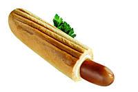 Французский хот-дог (булка+сосиска)