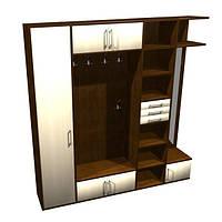 Мебель в прихожую на заказ 2400х2500х400 мм