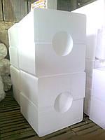 Поплавок пенопластовый для трубы земснаряда и т.д., фото 1