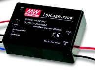 Блок питания LDH-45A-700 MEAN WELL, повышающий драйвер тока 700мА 12 вольт 5488