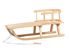 Санки дерев'яні WOOD