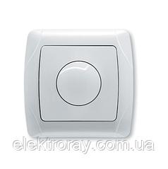 Светорегулятор, диммер1000W RL поворотный белый, крем Viko Carmen