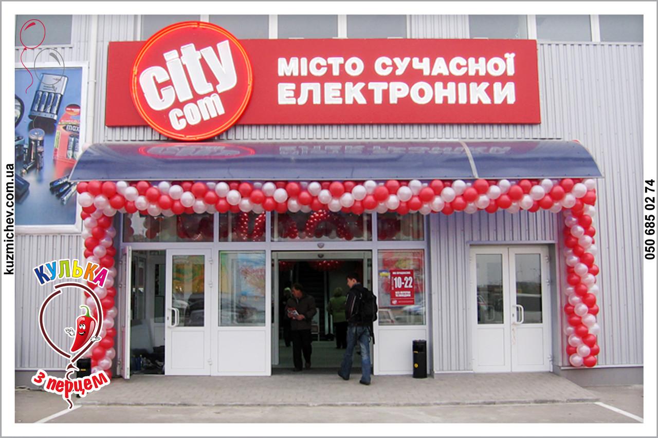 Гирлянда из воздушных шариков Полтава