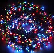 Новогодняя гирлянда 1000 LED, Длина 67m, Белый холодный свет,Кабель 2,2 мм, фото 2